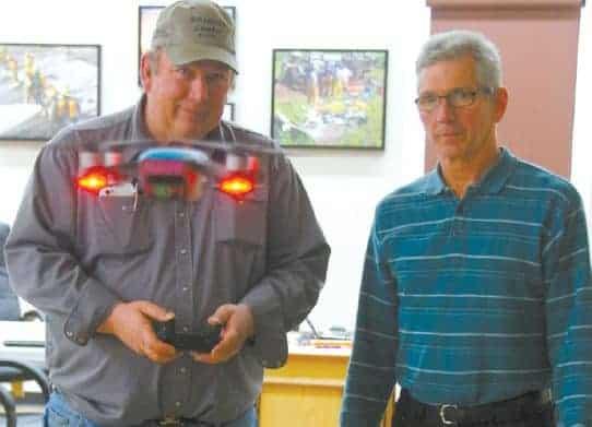 drone training testing